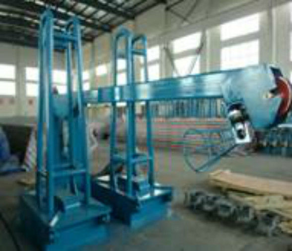 Heavy Duty Wire Payoff Machinery For Making Fence Sheet Extremely Excellent Conception