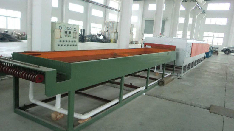 380V High Speed Stainless Steel Wire Drawing Machine With Electrical Control Cabinet